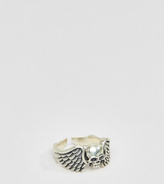 Серебряное кольцо с черепом Serge Denimes - Серебряный