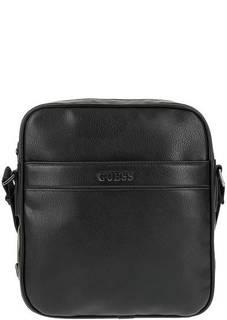 Маленькая черная сумка-планшет Guess