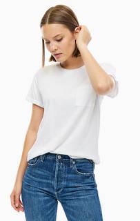 Удлиненная футболка с нагрудным карманом Replay