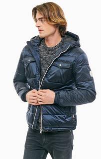 Синяя куртка с нагрудными карманами Jack & Jones