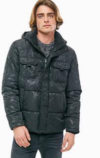 Демисезонная куртка с камуфляжным принтом Jack & Jones