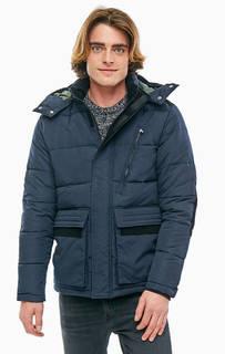 Синяя куртка со съемным капюшоном Jack & Jones
