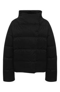 Утепленная куртка с воротником-стойкой Theory