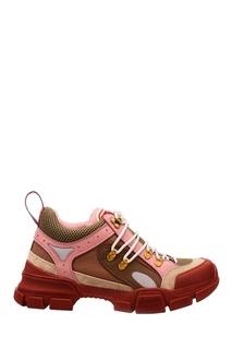 Разноцветные кроссовки Flashtrek Gucci
