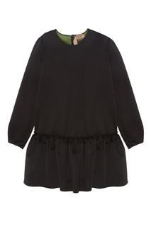 Черное платье-баллон No.21
