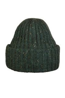 Зеленая вязаная шапка Canoe