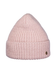 Розовая шапка с отворотом Canoe