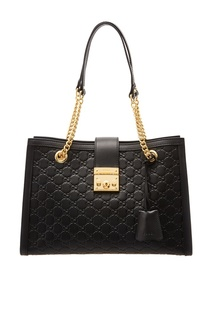 Черная сумка Padlock Gucci
