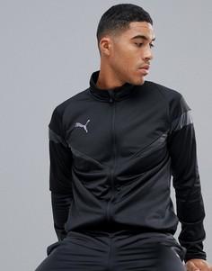 Черный спортивный костюм Puma Football Poly - Черный