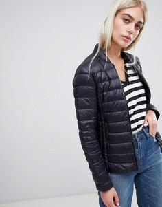 Дутая складываемая куртка Armani Exchange - Черный