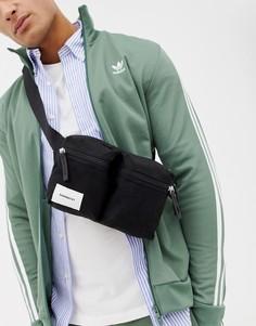 Черная сумка-кошелек на пояс Sandqvist Paul - Черный