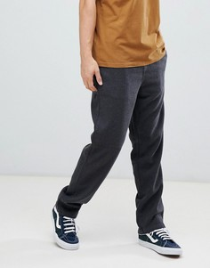 Черные брюки с эластичным поясом Element - Черный