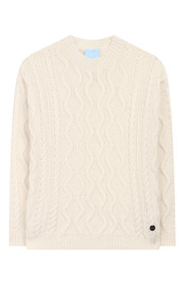 Пуловер фактурной вязки Lanvin