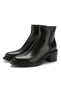 Кожаные ботинки на массивном каблуке Premiata