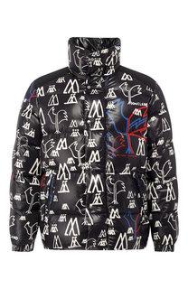 Пуховая куртка Marennes на молнии с капюшоном Moncler
