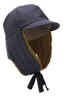 Шерстяная шапка-ушанка Inverni