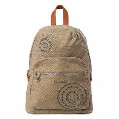 Рюкзак DESIGUAL 18SAXPX3 серо-бежевый