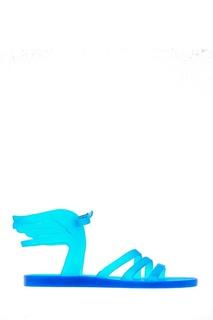 Синие сандалии с крыльями Ikaria Ancient Greek Sandals