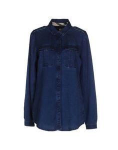 Джинсовая рубашка Burberry