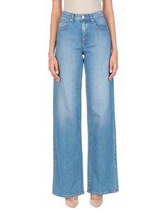 Джинсовые брюки Oscar de la Renta
