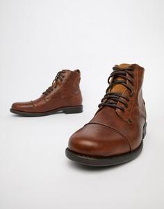 Коричневые кожаные ботинки Levis Emerson - Коричневый Levis®