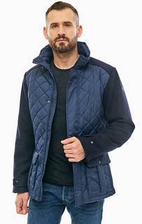Демисезонная куртка синего цвета Luhta