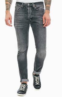 Серые джинсы скинни с карманами 501® Skinny Levis®