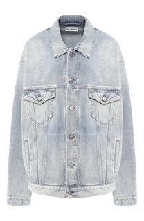 Джинсовая куртка свободного кроя Balenciaga