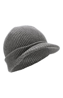 Шерстяная шапка с козырьком Inverni