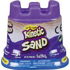 Кинетический песок для лепки. 140 грамм в контейнере. 1 неоновый цвет. Spin Master