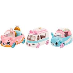 "Набор машинок Moose ""Cutie Cars"" с фигурками Shopkins, Свадьба на колёсах"