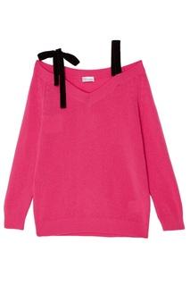 Розовый шерстяной пуловер RED Valentino