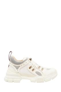 Белые кроссовки Flashtrek Gucci