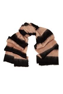 Шерстяной шарф в полоску Alexanderwang.T