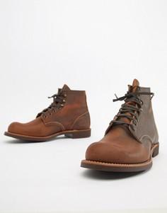 Кожаные ботинки на шнуровке Red Wing Blacksmith - Коричневый