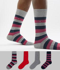 Подарочный набор из 4 пар носков Tommy Hilfiger - Мульти