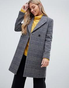 Удлиненное пальто в клетку Forever New - Мульти