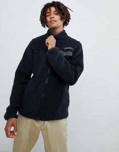 Черная флисовая куртка с молнией Columbia - Черный