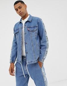 Спортивная джинсовая куртка с логотипом Levis - Синий Levis®