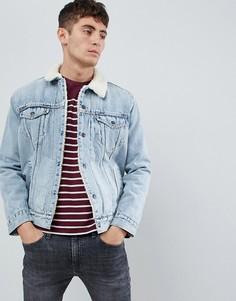 Куртка с искусственным мехом Levis type 3 - Синий Levis®