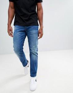 Прямые джинсы G-Star 3301 - Синий