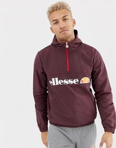 Бордовая куртка с логотипом ellesse Festi - Красный