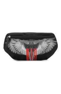 Текстильная поясная сумка с принтом Marcelo Burlon