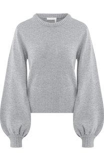 Кашемировый пуловер с круглым вырезом Chloé
