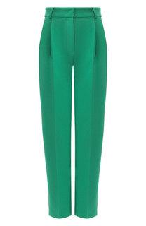 Однотонные брюки со стрелками Emporio Armani