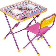 Комплект Азбука3:Маша и медв (стол+стул пл.) КПУ1/3 Nika