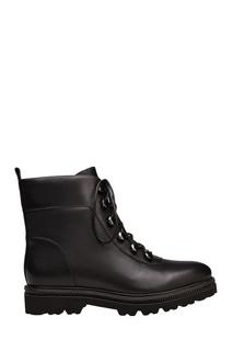 Черные ботинки на меху Portal