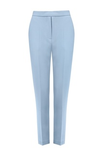 Зауженные укороченные брюки цвета лаванды Nebo