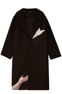 Черное пальто Marky 3.Paradis