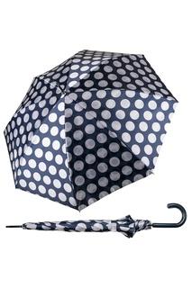 """Черно-белый зонт """"Горох RL BLUE"""" Goroshek"""